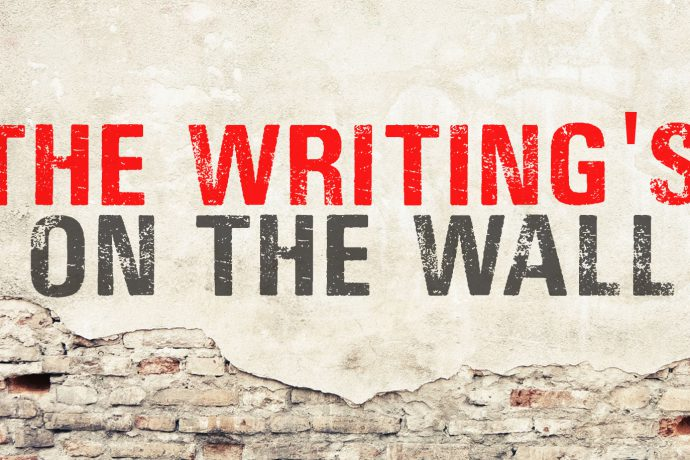 The Writing's On The Wall, Part 1 - WelCOMe